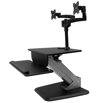 Dual Monitor Sit-to-stand Workstation