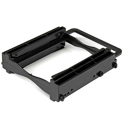 "Dual 2.5"" SSD/HDD Mounting Bracket for 3.5"" Drive Bay - Tool-Less Installation"