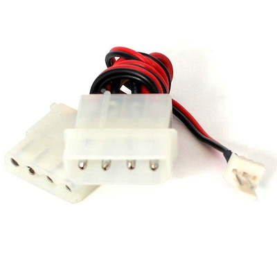 "Selected  TX3 to 2x LP4 Power Splitter Fan Adapter (6"")"