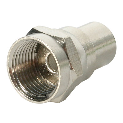 F-Type Male Crimp RG6 Connector
