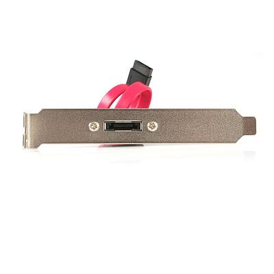 1 Port SATA to eSATA Slot Plate Bracket