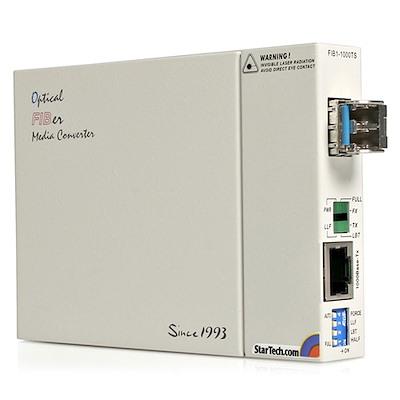 1000 Mbps Gigabit Single Mode Fiber Media Converter LC 40 km