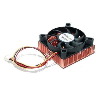 Selected 1U 60x10mm Socket 7/370 CPU Cooler Fan w/ Copper Heatsink & TX3