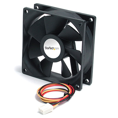 60x25mm High Air Flow Dual Ball Bearing Computer Case Fan w/ TX3