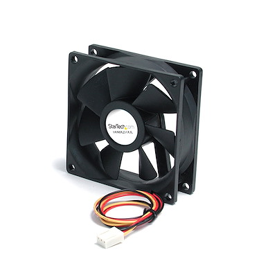 Selected 80x25mm Ball Bearing Quiet Computer Case Fan w/ TX3 Connector