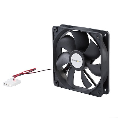 120x25mm Dual Ball Bearing Computer Case Fan w/ LP4 Connector