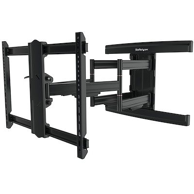TV Wall Mount supports up to 100 inch VESA Displays - Low Profile Full Motion TV Wall Mount for Large Displays - Heavy Duty Adjustable Tilt/Swivel Articulating  Arm Bracket