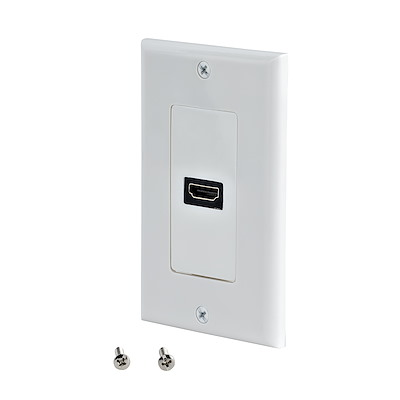 Selected HDMI® Wall Plate (White)