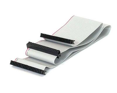Selected Dual Drive Ultra ATA IDE Hard Drive Cable