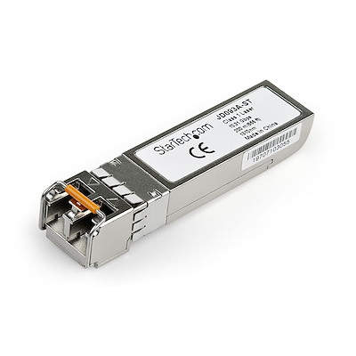HPE JD093A Compatible SFP+ Module - 10GBASE-LRM - 10GbE Multi Mode  Fiber Optic Transceiver - 10GE Gigabit Ethernet SFP+ - LC 200m - 1310nm - DDM HPE 5500G, 3800, 2620