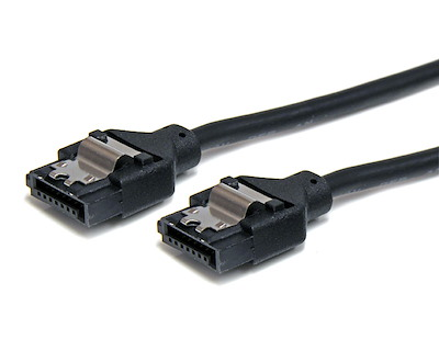 Round Latching SATA Cable