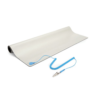 24x27.5in Beige Desktop Anti-Static Mat