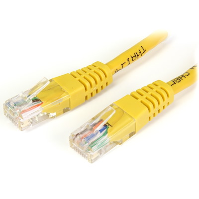 Selected Crossover Cat5e UTP Patch Cable (Yellow)