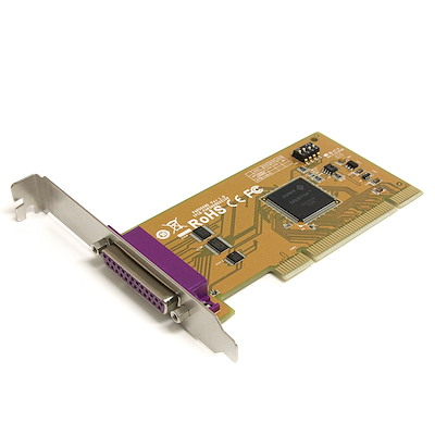 PCI Parallel Card with Re-mappable Address
