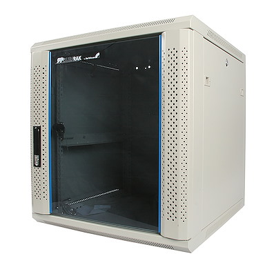 12U 19in Wall Mounted Server Rack Cabinet