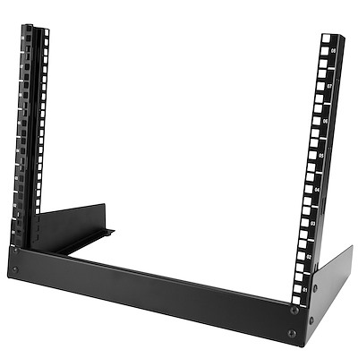 8U Desktop Rack - 2-Post Open Frame Rack