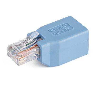 Adaptador Rollover/Consola Cisco para Cable RJ45 Ethernet  M/H