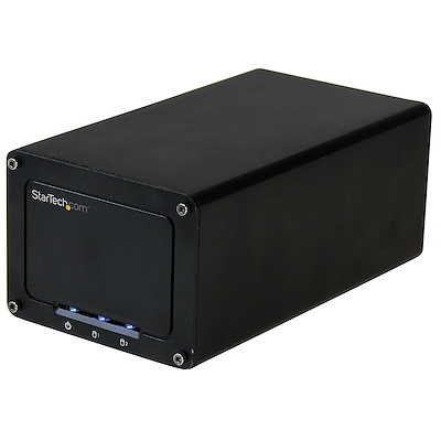 "USB 3.1 (10Gbps) External Enclosure for Dual 2.5"" SATA Drives"