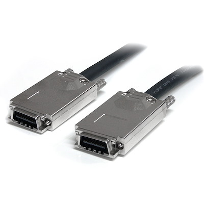 2m Infiniband External SAS Cable - SFF-8470 to SFF-8470