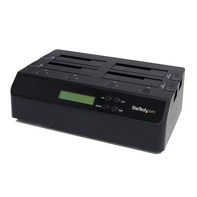4 Bay USB 3.0 eSATA to SATA Standalone 1:3 HDD Hard Drive Duplicator Dock
