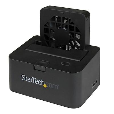 """Extern dockningsstation för 2,5"""" eller 3,5"""" SATA III-hårddiskar på 6Gbps – eSATA eller USB 3.0 med UASP"""