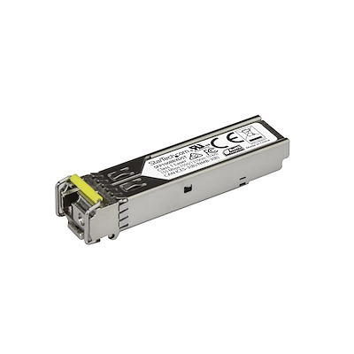 Module de transceiver SFP 100Base-BX fibre optique 100 Mb/s (Charge descendante) - Conforme aux normes MSA - Monomode LC - 10 km