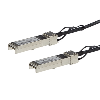 MSA Uncoded Compatible 0.5m 10G SFP+ to SFP+ Direct Attach Breakout Cable Twinax - 10 GbE SFP+ Copper DAC 10 Gbps Low Power Passive Transceiver Module DAC