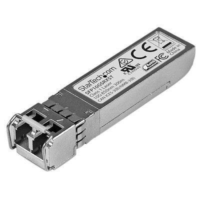 Cisco SFP-10G-SR-X Compatible SFP+ Module - 10GBASE-SR - 10GbE Multimode Fiber MMF Optic Transceiver - 10GE Gigabit Ethernet SFP+ - LC 300m - 850nm - DDM Cisco Firepower, ASR9000, C9300