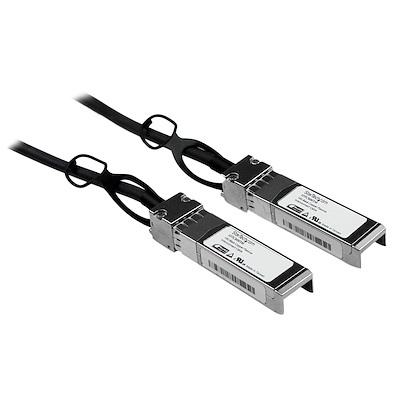 Cable 1m de Red Twinax Pasivo Cobre SFP+ 10 Gigabit Ethernet Direct Attach Conexión Directa 10GBASE-CU - Compatible con Cisco SFP-H10GB-CU1M