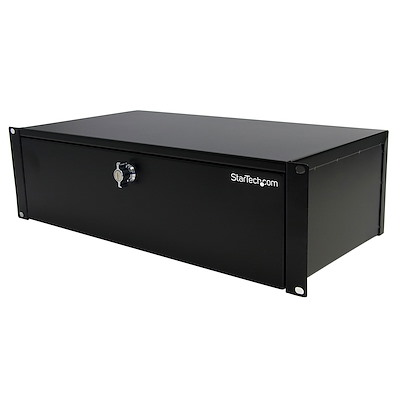 3U 9in Deep Rackmount Locking Storage Drawer