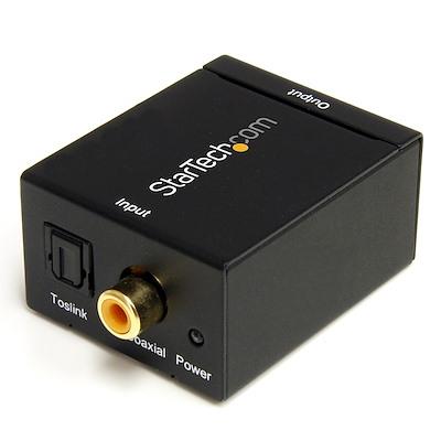 SPDIF Digital Koaxial und Toslink (Optisch) auf Stereo RCA Audio Konverter