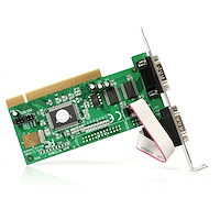 10 Pack of 2-Port PCI Serial Cards