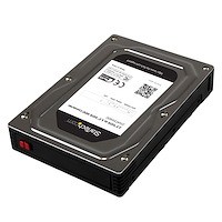 "2.5"" to 3.5"" SATA Aluminum Hard Drive Adapter Enclosure with SSD / HDD Height up to 12.5mm"
