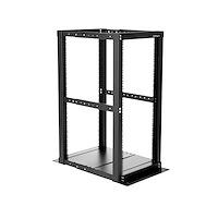25U 4 Post Server Open Frame Rack Cabinet