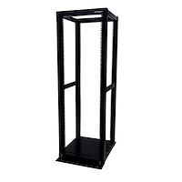 36U Adjustable 4 Post Server Equipment Open Frame Rack Cabinet