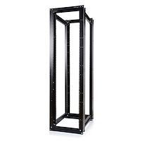 45U 3300lb High Capacity 4 Post Open Server Equipment Rack - Flat Pack