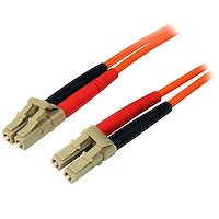 Fiber Optic Cable - Multimode Duplex 50/125 - LSZH - LC/LC - 3 m