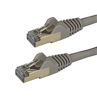 Cat6a Ethernet Kabel - geschirmt (STP) - 3m - Grau