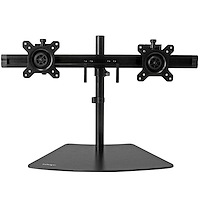 Dual-Monitor Stand - Horizontal - Black