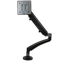 Single Desk-Mount Monitor Arm - Full Motion Articulating - Steel