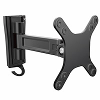 Wall-Mount Monitor Arm - Single Swivel