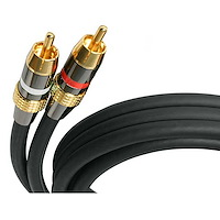 50 ft Premium Stereo Audio Cable RCA - M/M