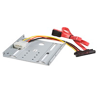 2.5in SATA Hard Drive to 3.5in Drive Bay Mounting Kit