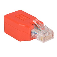 Adaptador de Cable de Red Ethernet Cat6 Directo Recto Straight a Cruzado Crossover UTP Patch RJ45