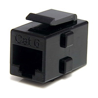 Cat 6 RJ45 Keystone Jack Network Coupler - F/F