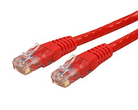 Cat6 Patch Cable (UTP) - ETL Verified (Red)
