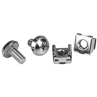 M5 Mounting Screws & Cage Nuts for Server Rack Cabinets
