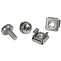M5 Rack Screws and M5 Cage Nuts - 20 Pack
