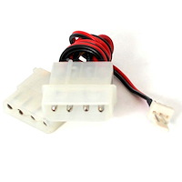 12in Fan Adapter - TX3 to 2x LP4 Power Y Splitter Cable