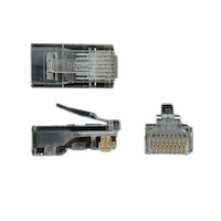 Cat 5 RJ45 Solid Wire Connector - 5 Pack